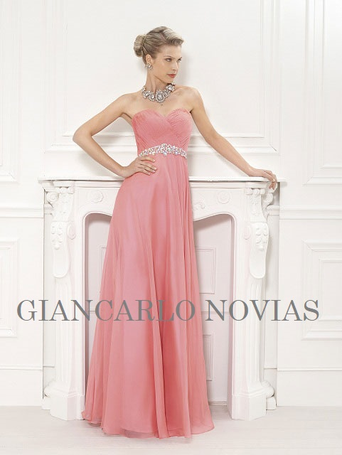 VESTIDOS DAMAS HONOR